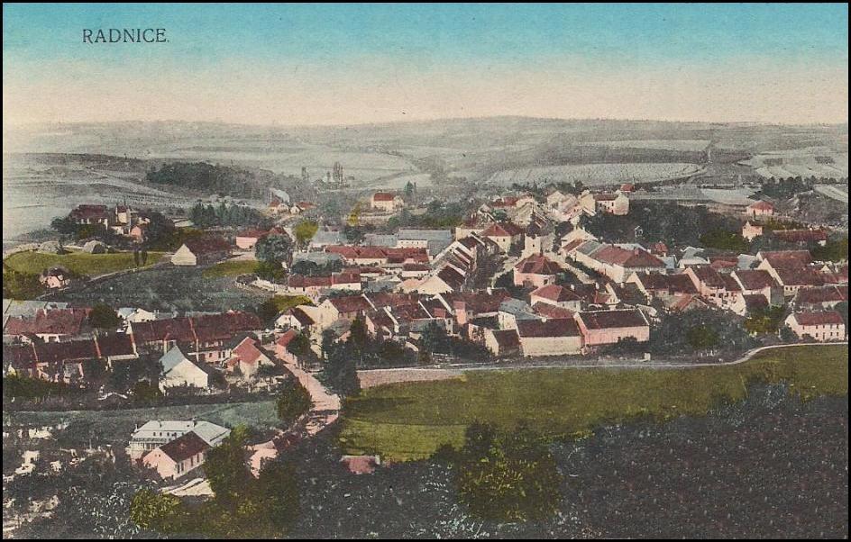 Radnice u Rokycan (1915)